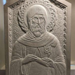 The Byzantine Sculpture of Michael Lucas