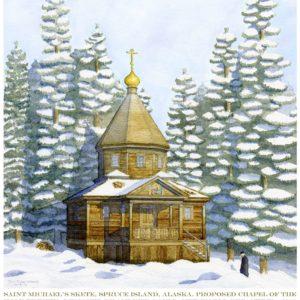 A Monastic Chapel for Spruce Island, Alaska