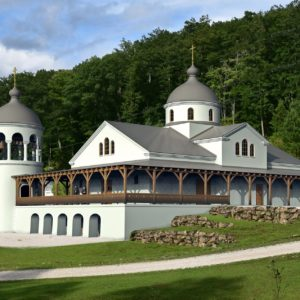 A Beautiful Church for Holy Cross Monastery in West Virginia