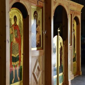 A Professionally-Built Iconostasis for a Mission Church