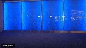 Custom Bubble Wall Indoor Waterfall Dancing Water Wall Feature