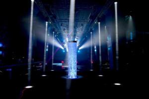 bubble column california nightclub nightclub water feature