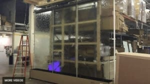 How To Build a Custom Glass Water Wall Waterfall You Have To Watch This