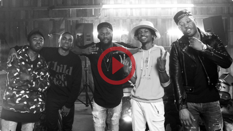 Legends In The Making - King Mez, J-Doe, Raury, Casey Veggies and Vince Staples
