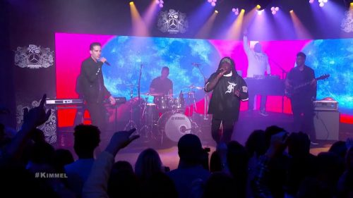 Wale-G-Eazy-Fashion-Week-Live-on-Jimmy-Kimmel-Show-BMF