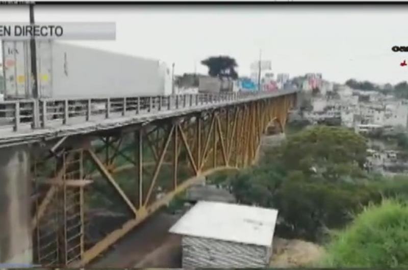 Siguen los trabajos en Puente Belice