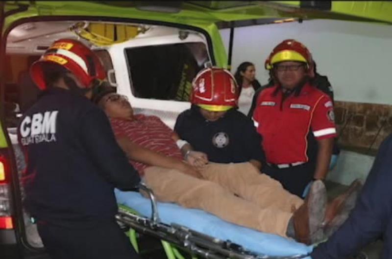 Cinco heridos durante balacera en la zona 5