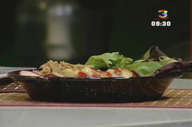 Aprende la receta de la ensalada de atún y guacamole