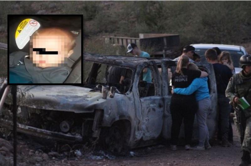 Difunden imágenes del momento en que encuentran con vida al bebé LeBarón  que sobrevivió la masacre - Chapin TV