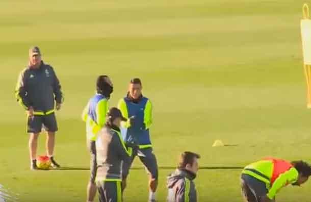 (VIDEO) Cristiano Ronaldo se burla de lo ocurrido a James Rodríguez