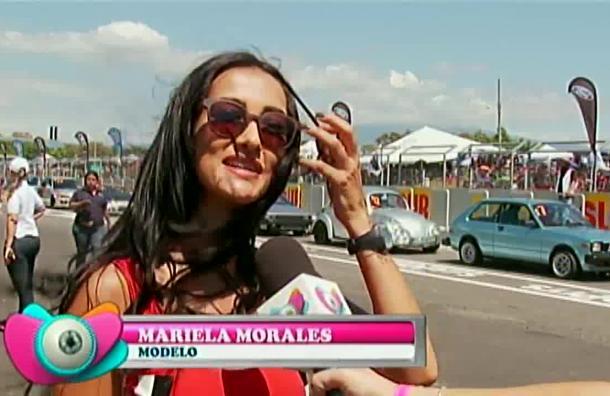 Mariela Morales regresó de su viaje por Bélgica