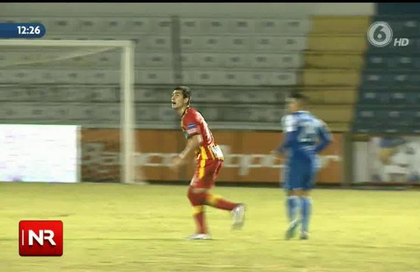 Jonathan Hansen no ha podido marcar goles
