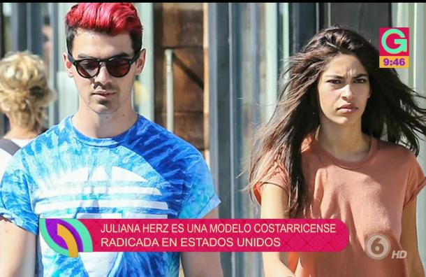 Juliana Herz, la modelo costarricense que sale con Joe Jonas