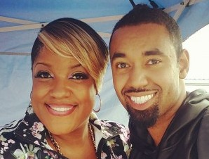 """Motown Gospel's Anita Wilson and Bryan Andrew Wilson at Philly 103.9's """"Praise In The Park"""" Event"""