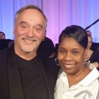 Chicago Mass Choir President, Dr. Feranda Williamson and Chicago Chamber Orchestra Conductor, Maestro Robert Turizziani