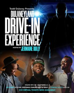 Grammy Nominated Worship Artist, Todd Dulaney, Presents Dulaneyland Drive-In Experience With Travis Greene, Jabari Johnson, Hosted By Jermaine Dolly